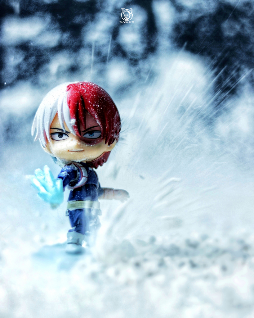 Good Smile Company X My Hero Academia 'Todoroki' Toy Photography by TJ Collects