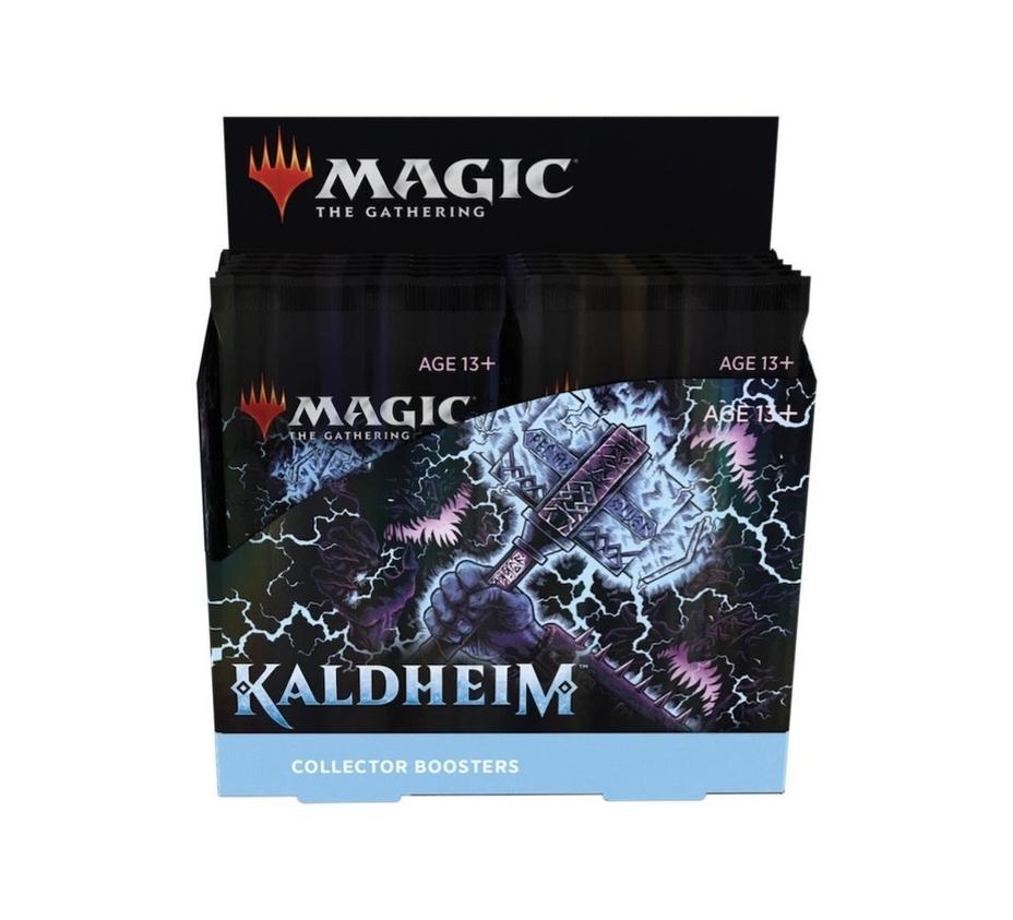 Magic the Gathering - Kaldheim Collector Booster Box Product Image