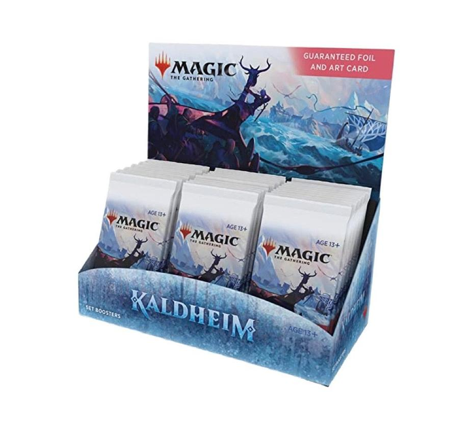 Magic the Gathering - Kaldheim Set Booster Product Image