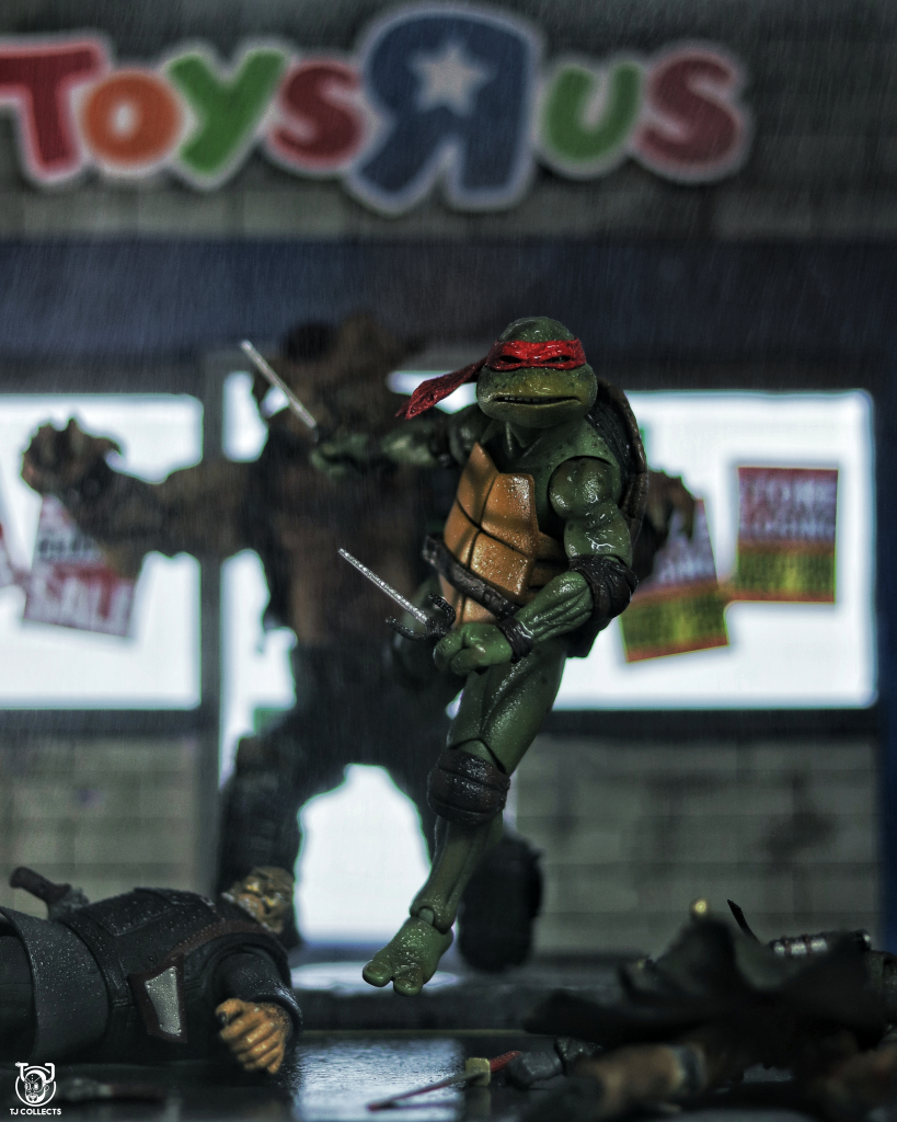 """Neca TMNT """"Rapheal vs Thugs"""" Toy Photography by TJ Collects"""