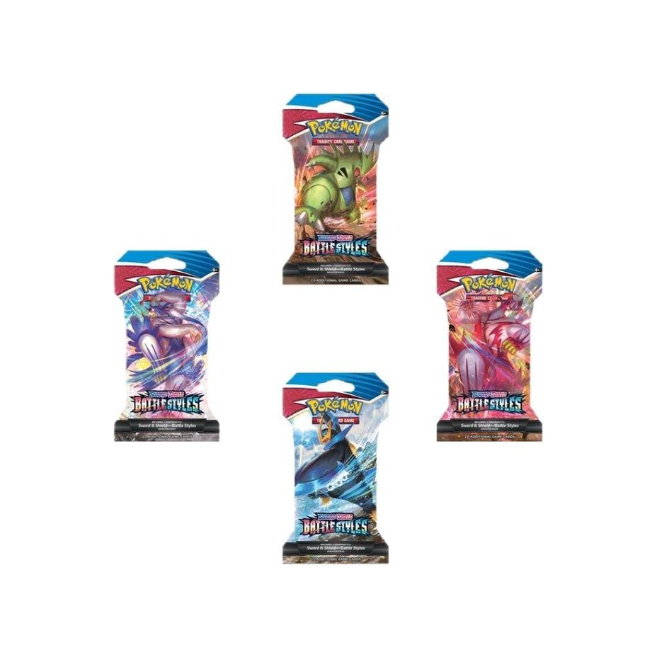 Pokémon - Battle Styles Sleeved Booster Pack Case Product Image