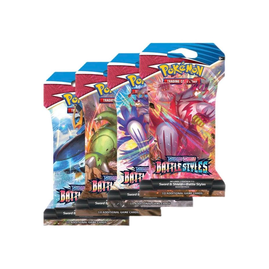 Pokémon - Battle Styles Sleeved Booster Pack Product Image