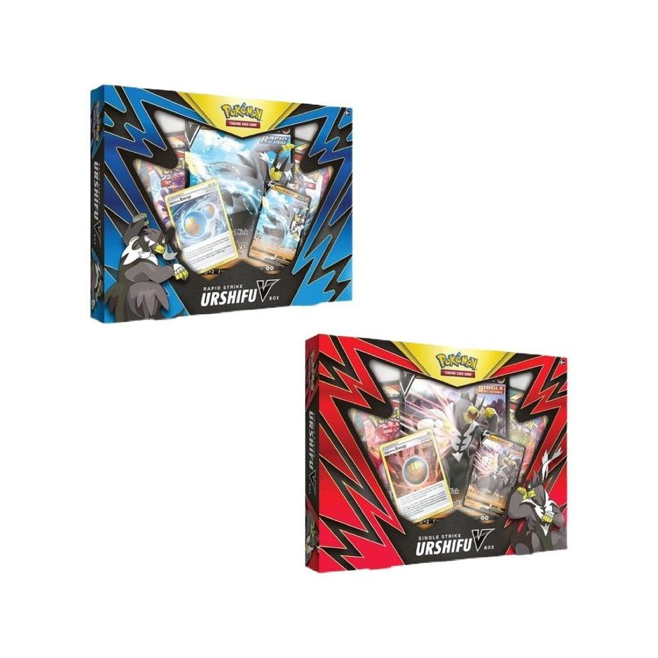 Pokémon - Single Rapid Strike Urshifu V Box Product Image