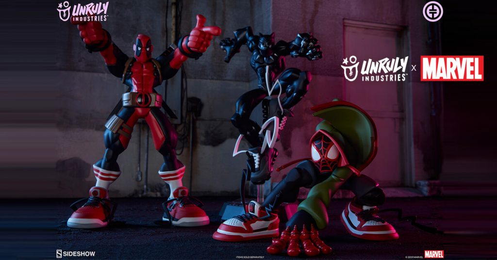 Unruly Industry X Marvel Figures by Tracy Tubera Product Image
