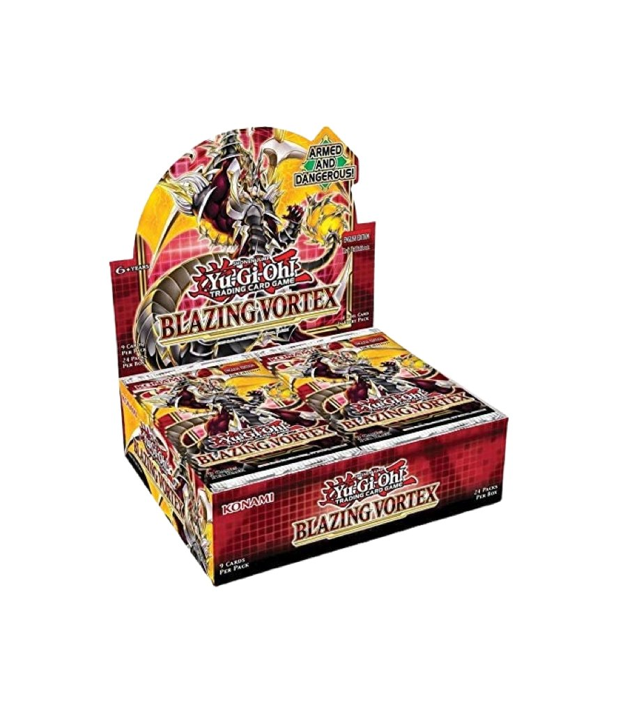 Yu-Gi-Oh - Blazing Vortex Booster Box Product Image