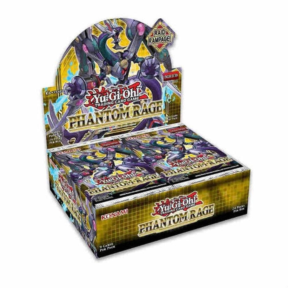 Yu-Gi-Oh - Phantom Rage Booster Box Product Image