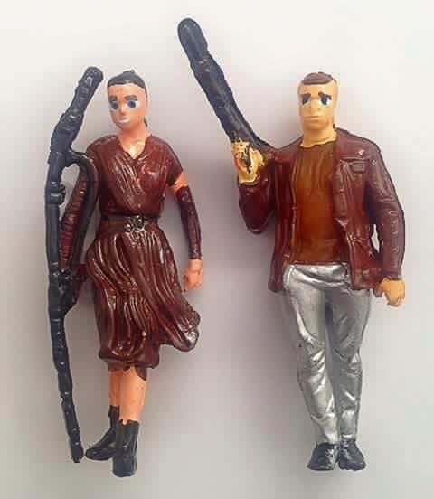 Very bad Rey and Finn?? figures