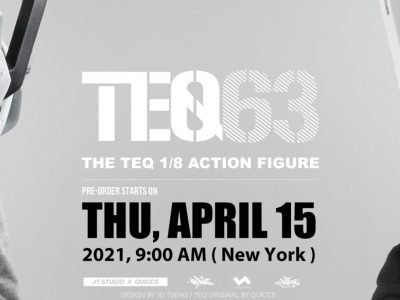 jt studio 1-8 scale teq63 action figure announcement banner