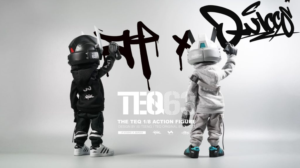 jt studio 1 8 scale teq63 action figure pair from behind