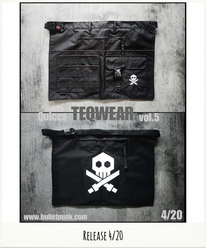 quiccs teqwear vol. 5 apron bag