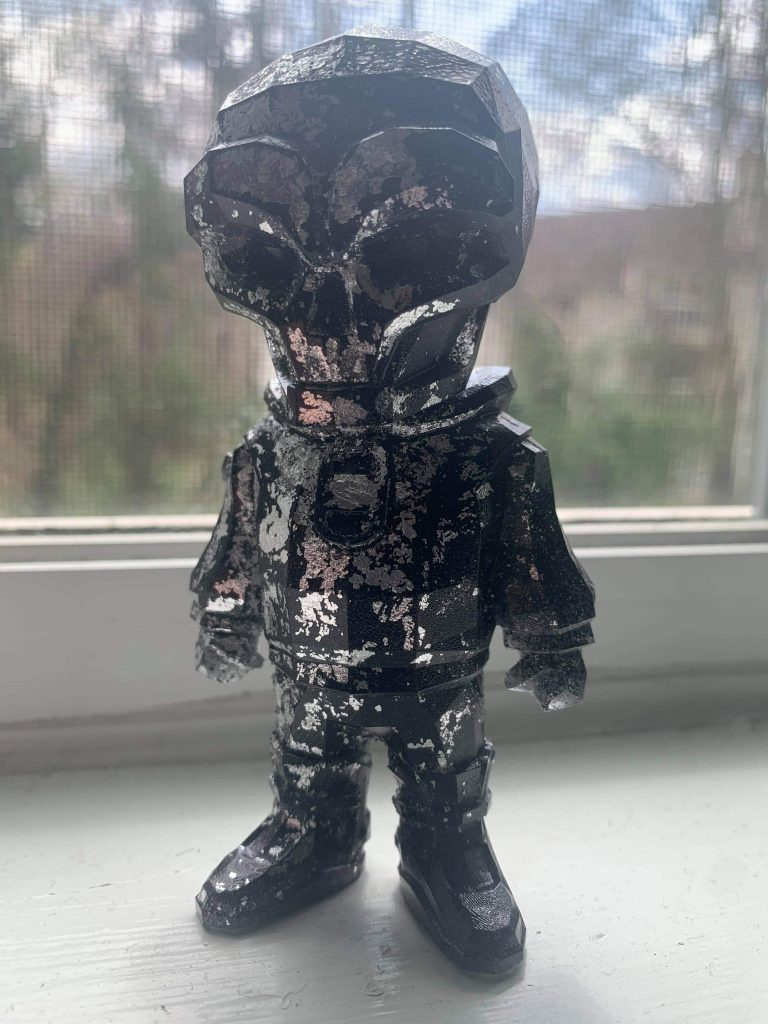 resin rookie dreamer front