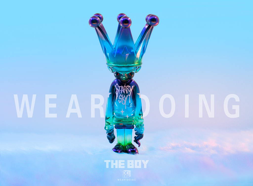 we art doing the boy water variant