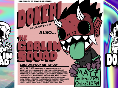 dokebi solo and custom show banner