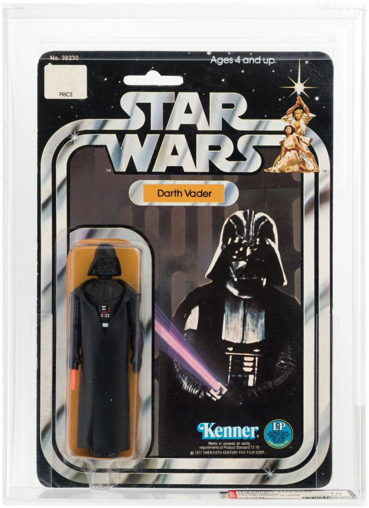 double telescoping darth vader with card