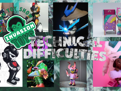 invasion toys technical difficulties event banner