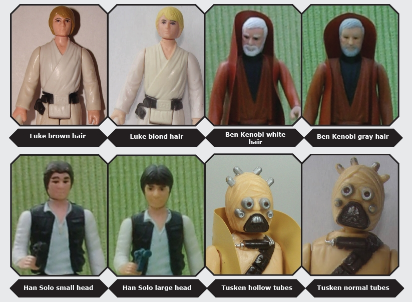 kenner star wars variants