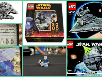 lego star wars collage