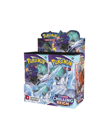 invasion toys chilling rein booster box