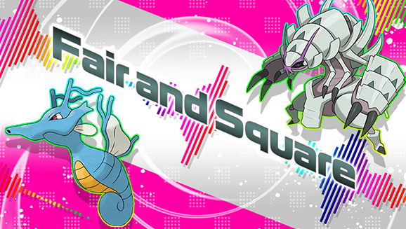 pokemon fair and square competition banner