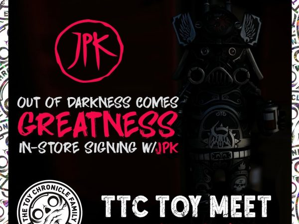 the toy chronicle ouroboros in person signing graphic