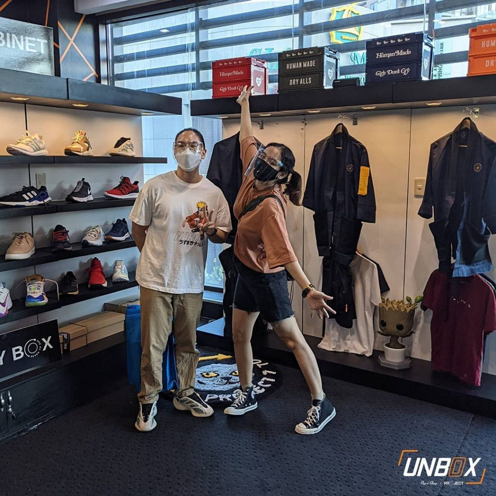 unbox gh apparel section