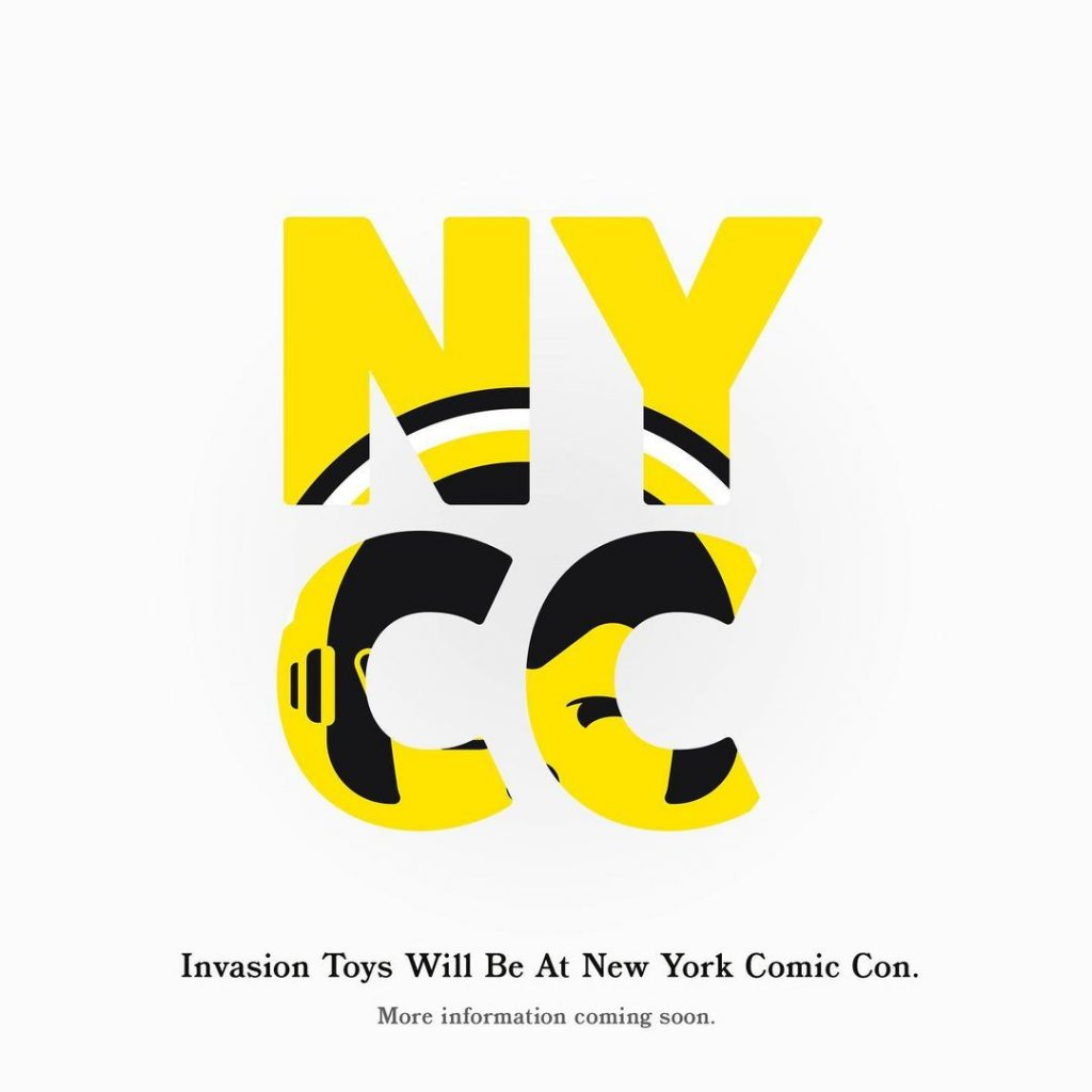 invasion toys nycc announcement