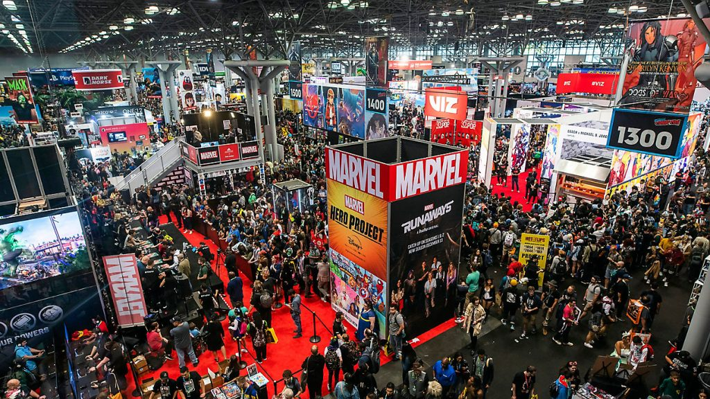 new york comic con 2019 by charles sykes