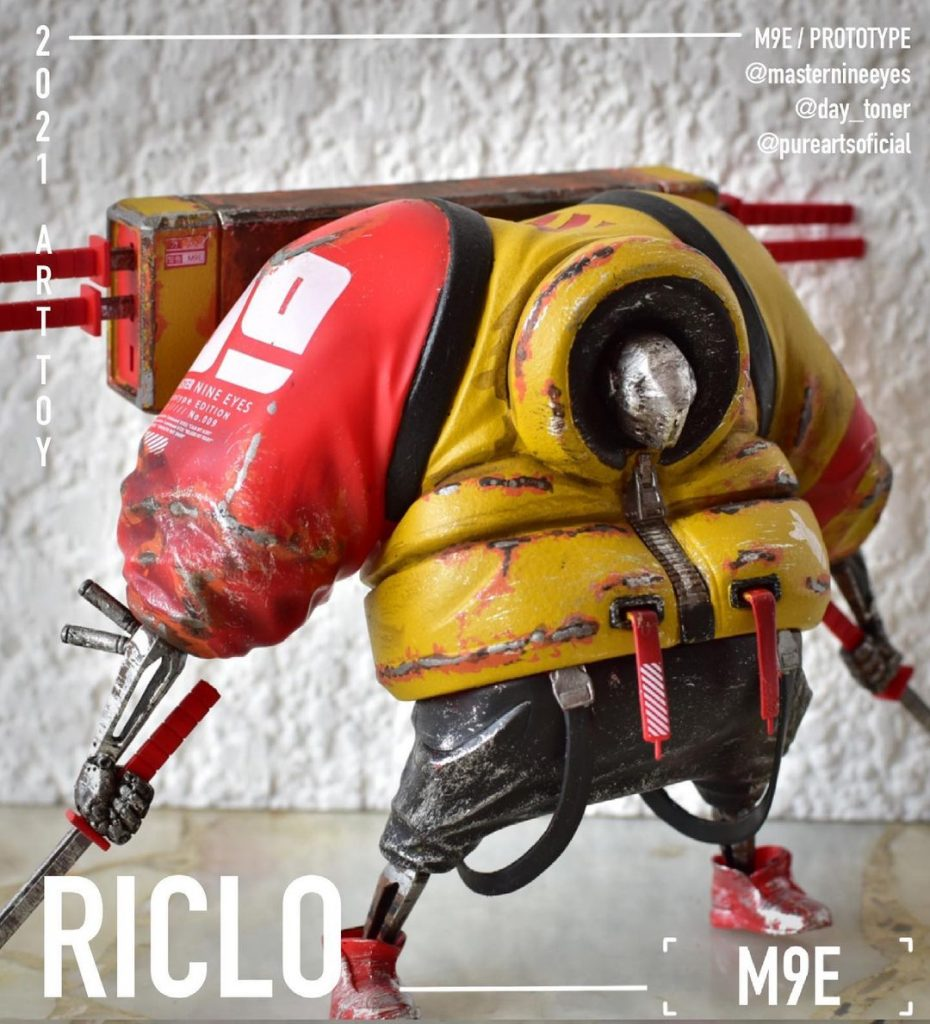 riclo toys m9e riclo army for stormy vault
