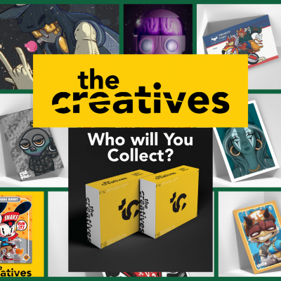 the creatives trading card project banner