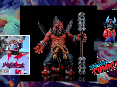 rlux customs invasion toys nycc banner