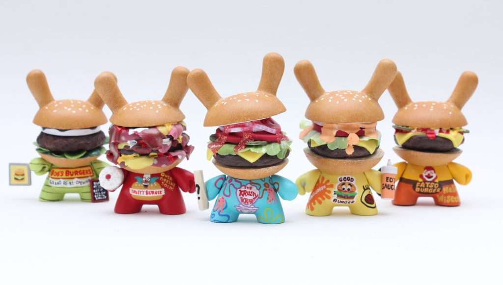 zard apuya invasion toys nycc exclusive dunny burgers